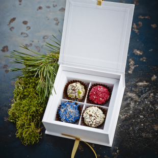 Any truffles selection in exclusive gift box